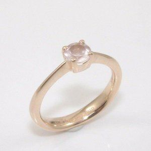 9K Gold I Love You XO Spinel Engagement
